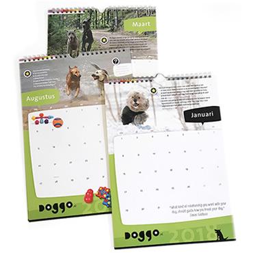 Grafisch ontwerp kalender
