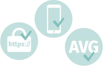 Is jouw website responsive en beveiligd en voldoet deze aan de AVG?